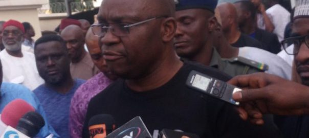 Governors Ayodele Fayose