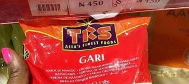 Indian garri [Photo credit: Nigeria Today]