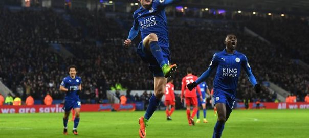 Leicester City beat Liverpool [Photo Credit: The Guardian]