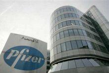 Pfizer building [Photo Credit: International Business Times]