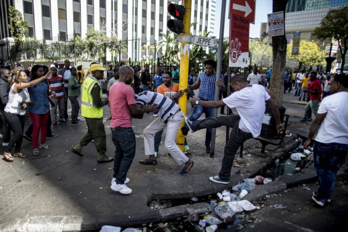 South Africans on rampage