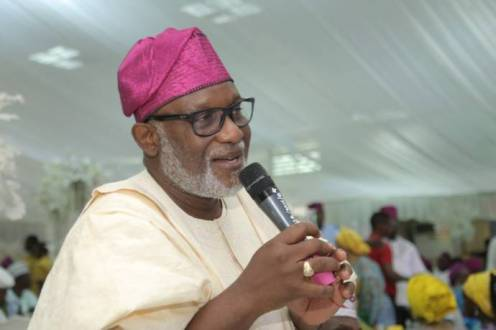 Ondo Governor, Oluwarotimi Akeredolu
