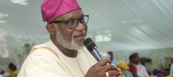Governor of Ondo State, Rotimi Akeredolu [Photo: Today.ng]