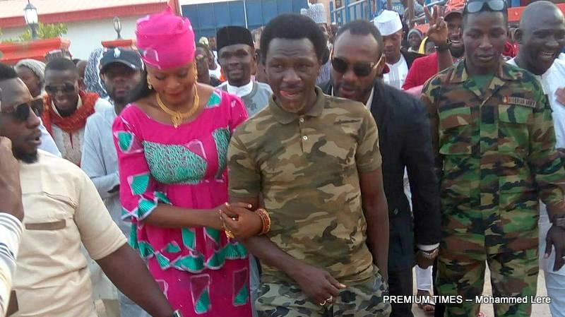 General Bello weds Zainab