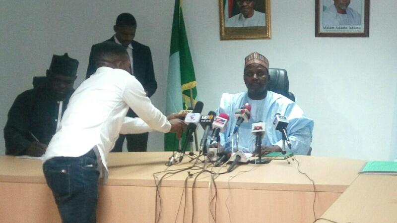 Sacked Executive Secretary, TETFund, Abdullahi Baffa,