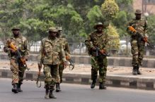 Nigerian Army officers fighting Boko Haram