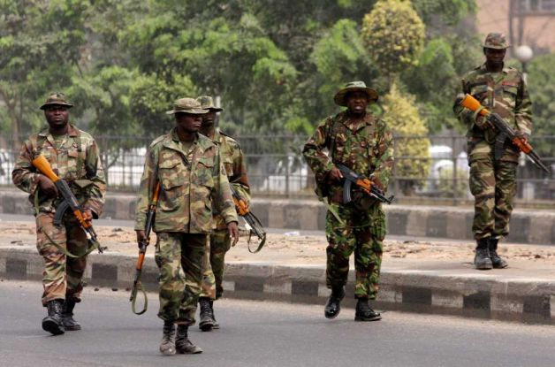 Image result for nigerian soldiers