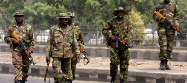 Nigerian Soldiers [Photo Credit: Olisa TV]