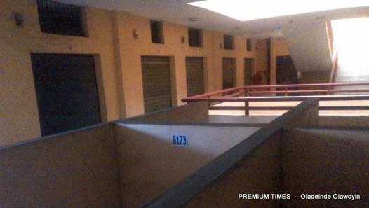 Second floor completely deserted