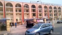 Entrance of Tejuoso market