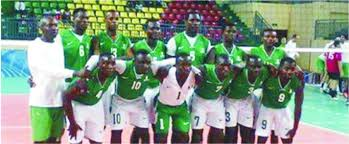Nigeria Volleyball Team[Photo Credit: Hope News Paper]