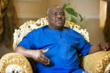 Governor Nyesom Wike of Rivers state. [Photo credit: Nairaland]