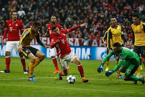 Arsenal out of Champions League after Bayern demolition [Photo: Sportskeeda.com]