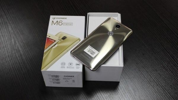 Gionee M6 Mirror
