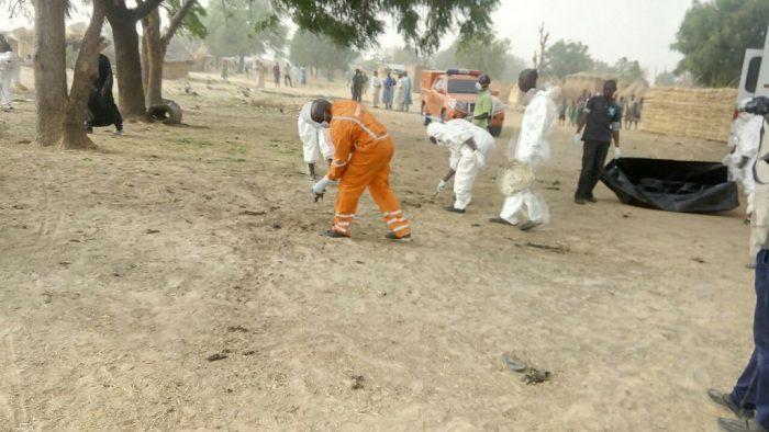 Suicide bombers kill mother, two children in Borno