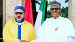 President Muhammadu Buhari and King Mohammed VI of Morocco