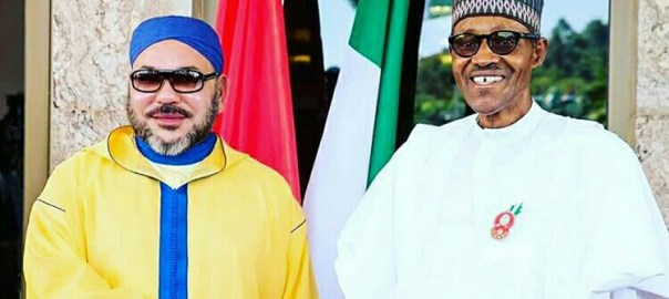 President Muhammadu Buhari and King Mohammed VI of Morocco