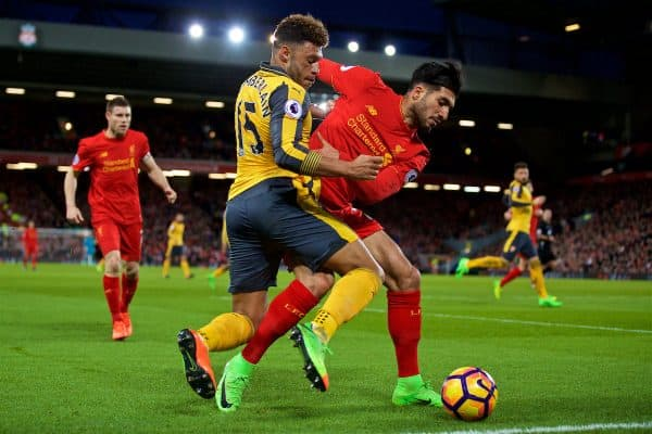 Liverpool Against Arsenal[photo Credit: Anfield]