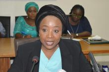 Executive Secretary, Pension Transitional Arrangement Directorate, PTAD, Barr. Sharon Ikeazor [Photo: icpc.gov.ng]