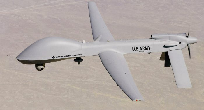 U.S attack drones [Photo: Sputnik International]