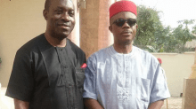 Anambra governor, Willie Obiano and Charles Soludo