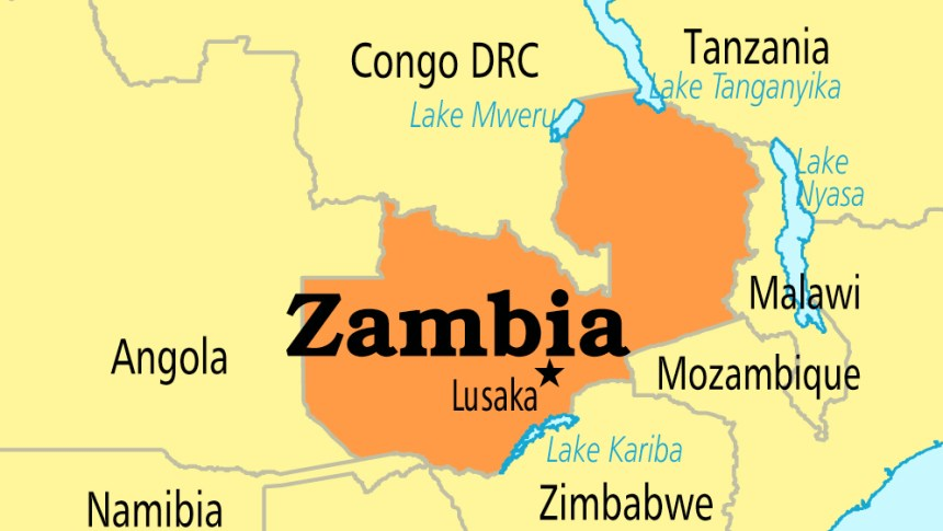 Zambia arrests 41 ugandan herbalists for unlawful stay premium zambia map gumiabroncs Choice Image