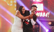 Efe and Bisola [Photo: New Vision]
