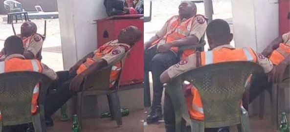 Drunken FRSC officials