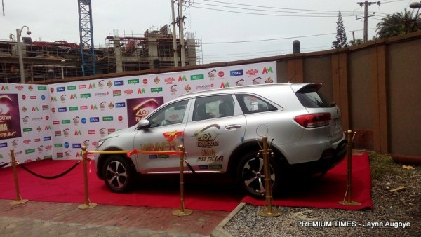 Efe's brand new Kia SUV
