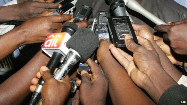 Image result for nigerian journalists interviewing