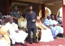 Osinbajo now 'Jagaba of Adamawa', as state names road after Buhari, Vice President