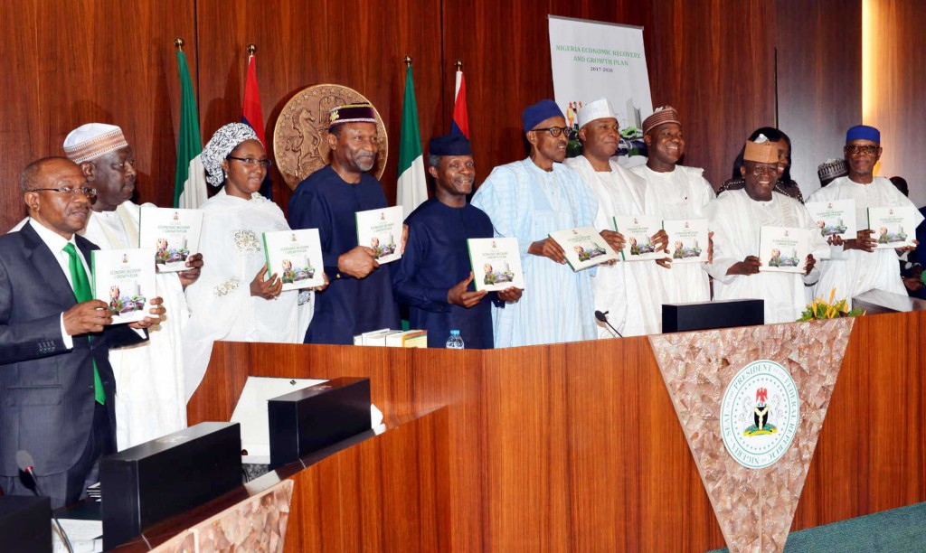 Umrah Banner: Buhari Launches Nigeria's Economic Recovery, Growth Plan