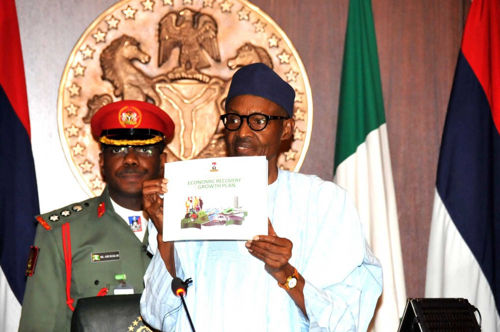 Buhari launches Economic Recovery Plan