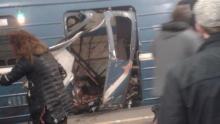 St Petersburg Bomb attack