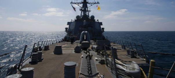 U.S. warship [Photo Credit: Vivere Milano]