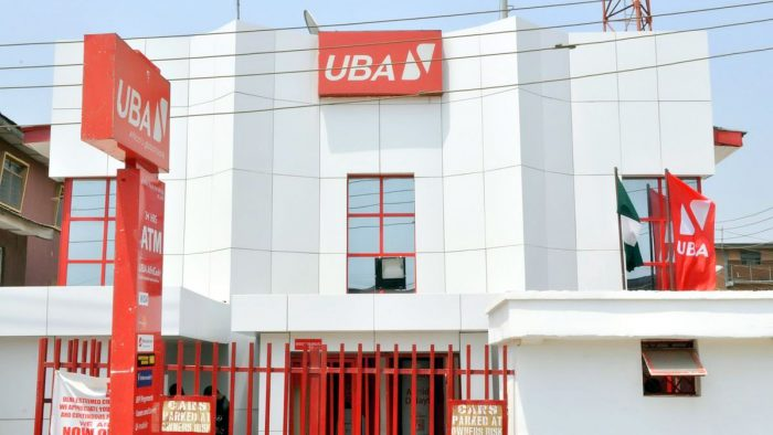 United Bank for Africa (UBA) building used to illustrate the story