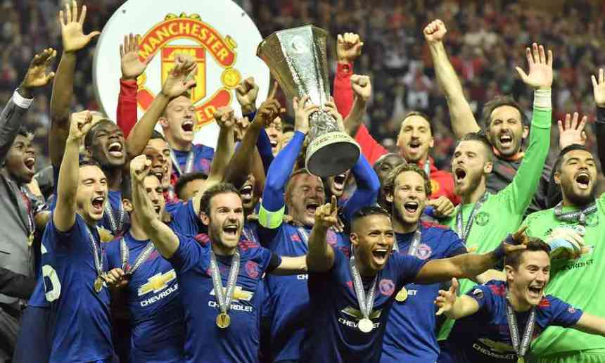 Manchester United win first Europa League title - Premium ...