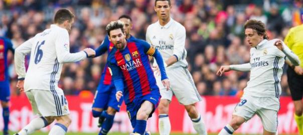 Barcelona vs. Real Madrid: Score and Reaction from 2016 El Clasico | (Credit: Bleacher Report)