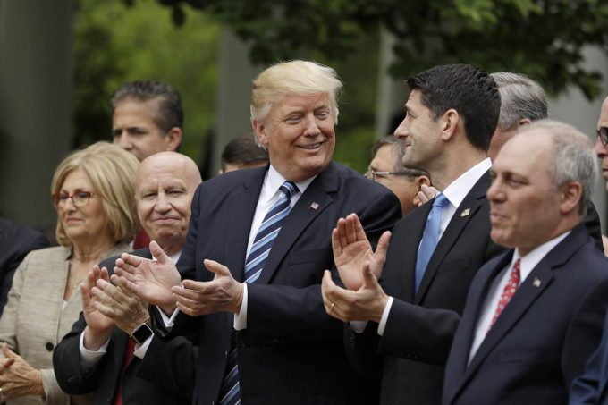 House repeals Obamacare, passes Trumpcare bill