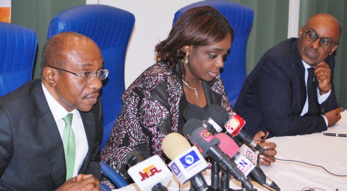 Image result for godwin emefiele and adeosun