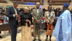 The Nigerian delegation to the Africa Summit 2017