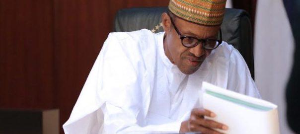 Nigerian President, Muhammadu Buhari