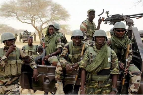 Image result for Soldiers repel Boko Haram attacks in Maiduguri
