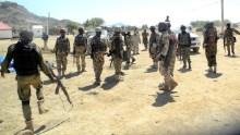 Nigerian Army after recapturing Mubi