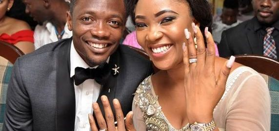 Ahmed Musa with his new lover, Juliet Adeh Ejue.