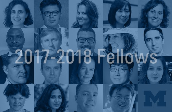 University of Michigan Knight-Wallace Journalism Fellows for the 2017-2018 academic year.