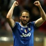 Higuain hits brace as Juventus secure away win over Monaco