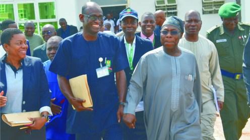 Former President, Olusegun Obasanjo