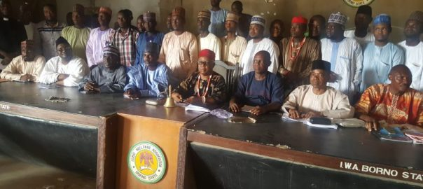 Igbo Community in Borno State on Saturday held a peace meeting with the people of the state