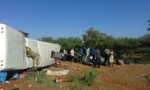 45 killed in bus accident in Zimbabwe [Photo: Zim News]